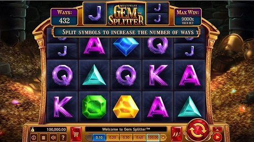 Слот Gem Splitter от Wazdan